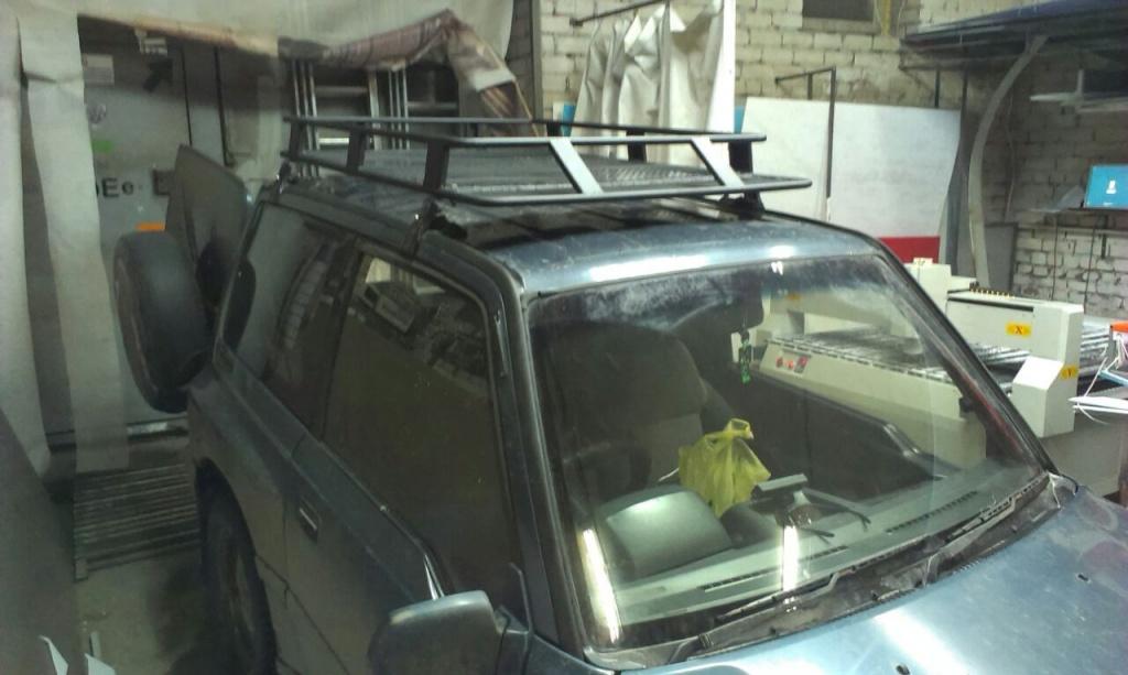 Экспедиционный багажник на сузуки эскудо